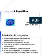 The RSA Algorithmppt.ppt