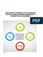 Risk Based Controls in Accounting