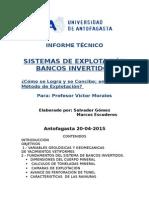 Informe de Sistemas de Explotación 1 en AutoCad