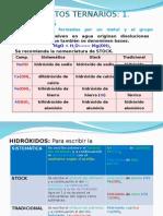 Nomenclatura y Obtencion de Los Compuestos Inorganicos 2014 PARTE 2