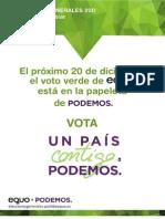 Acuerdo EQUO Podemos