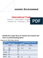 Global Economic Environment Int Trade Group 2 NH