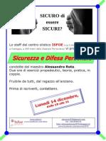 Dicembre 2015 - ISFOE - Sicurezza e Difesa Personale 002