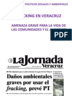 Fracking en Veracruz