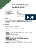 Dibujo Industrial Silabo 2014-1