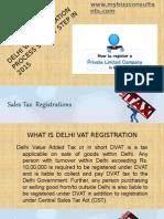 VAT Registration in Delhi