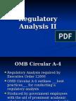 Regulatory Analysis II-Carmen