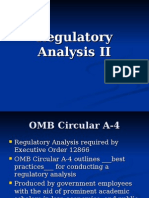 Regulatory Analysis II-Carmen