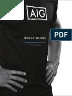 AIG 2014 Annual Report