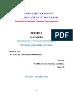 Revolutia Industriala in Franta