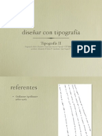 Diseñar con Tipografia - Tipografia 2 2015