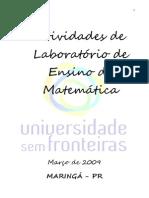 Atividades de Laboratório de Ensino Da Matemática
