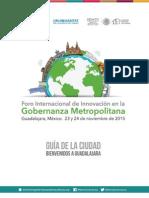 Guía Asistentes - Foro Internacional de Innovación en la Gobernanza Metropolitana