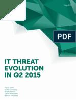 IT Threat Evolution Q2 2015 ENG