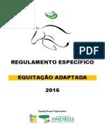 Regulamento Equitação Adaptada