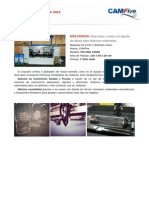 Máquina Láser de Gran Area - CFL-CMA 1390K