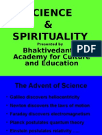Science and Spirituality 1