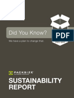Packsize Sustainability Report