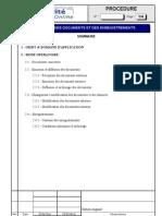 0043 - Exemple Generique de Procedure - Maitrise Des Documents Et Des Enregistrements