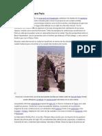 Plan Haussmann Para París