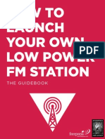 Launch Your Own LPFM Station