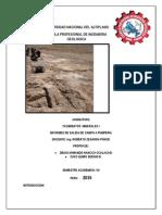 Informe de Yacimientos i Mina Pumperia