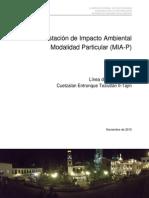 Proyecto Sistema Hidroeléctrico Apulco