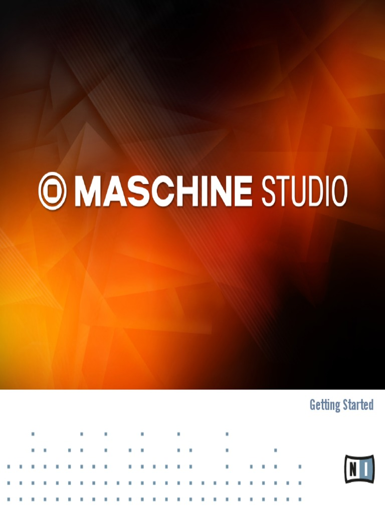 maschine factory library missing