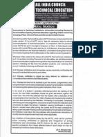 AICTE Refund Policy