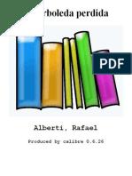 La Arboleda Perdida - Alberti_ Rafael