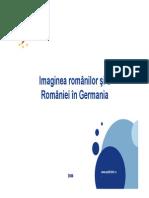Imaginea Romaniei in  Germania