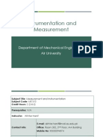 Week 1(Instrumentation and measurement)