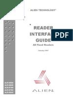 Reader Interface
