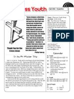 Newsletter April 2010