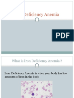 Iron Deficiency MED TECH