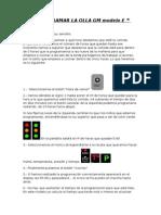 Programar La Olla Gm Modelo e
