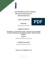 Proyecto Comunicacion Educativa
