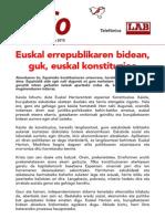 Euskal Konstituzioa