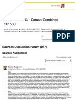 Second Discussion Board Post