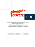 Contrato Colectivo CROC ejemplo