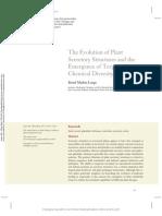 The Evolution of Plant secretory structures. 2014.pdf