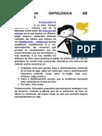 Concepción Ontológica de Descartes