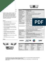 Vivitek Proyector D5010