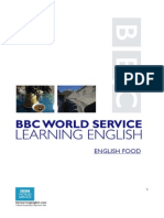 English Food Worksheet
