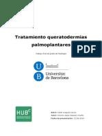 queratodermias palmoplantares tratamiento