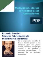 Comportamiento Organizacional Sesión 09 Motivación de Los Conceptos a La Aplicación