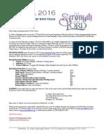 2016 Registration Letter