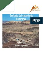 3. Geología Mina Esperanza