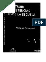 Construircompetenciasdesdelaescuela Perrenoud 121210172301 Phpapp01
