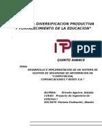 Proyecto Investigacion Ingenieria de Sistemas